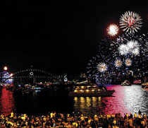 New Years Eve Bradfield Park on Harbour New Years Eve Blues Point Reserve - 5 years