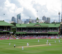 New Years Sydney Cricket Test